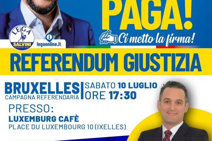 Referendum Giustizia Bruxelles
